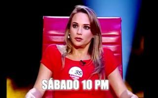 El valor de la verdad: Luciana León estará este sábado [VIDEO]