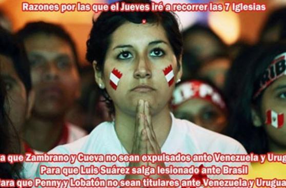 Los mejores memes previo al duelo entre Perú y Venezuela