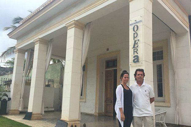 El restaurante Ópera es otro ejemplo de lo que en Cuba se llama