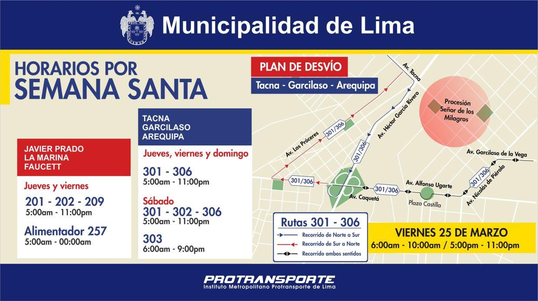 El Metropolitano y los corredores complementarios modificarán sus horarios por Semana Santa. (Archivo El Comercio)