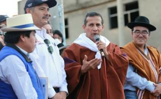"Humala: ""Quieren convertir a mi familia en la peor familia"""