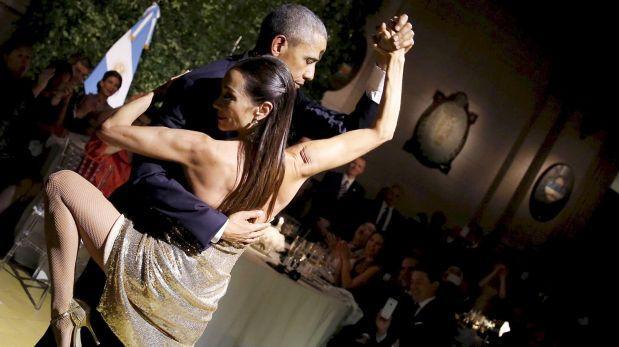 """Mujer que bailó tango con Obama: """"Es muy buen bailarín"""""""