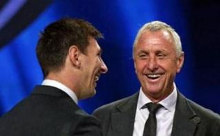 Lionel Messi: este fue el mensaje de adiós hacia Johan Cruyff