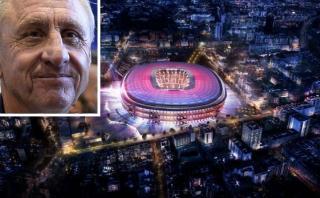Aficionados piden renombrar estadio del Barza en honor a Cruyff