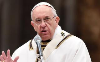 El Papa culpa a fabricantes de armas por atentados en Bruselas