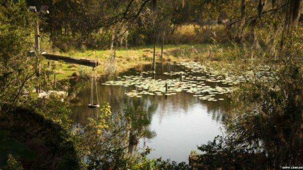 El acceso a los parques abandonados es restringido.