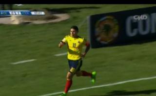 Colombia vs. Bolivia: James Rodríguez anotó un golazo en La Paz