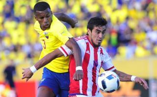 Ecuador igualó 2-2 con Paraguay con gol agónico en minuto 91