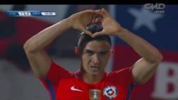 Chile vs. Argentina: Gutiérrez adelantó con cabezazo [VIDEO]
