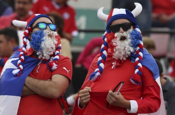 Chile vs. Argentina: el partido de los hinchas en tribunas