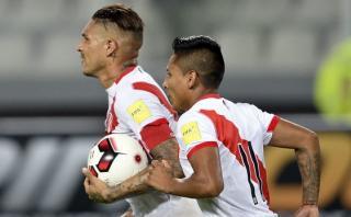 Paolo Guerrero anotó y es goleador histórico de la selección