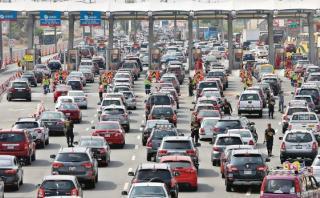 Unos 190 mil vehículos salieron rumbo al sur por Semana Santa