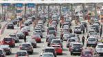 Unos 190 mil vehículos salieron rumbo al sur por Semana Santa - Noticias de señor de los milagros
