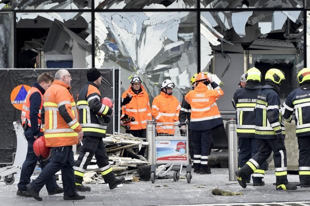 El aeropuerto de Zaventem fue uno de los puntos de ataque terrorista en Bruselas. (Reuters)