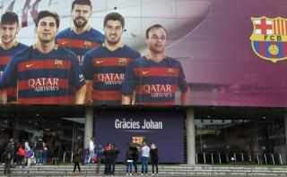 Barcelona hará velatorio a Johan Cruyff durante cuatro días