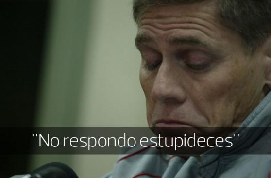 Ricardo Gareca y otros roces de técnicos con los periodistas