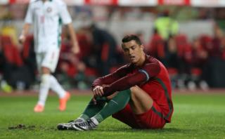 Cristiano Ronaldo falló penal y Portugal perdió ante Bulgaria