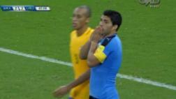 Brasil vs. Uruguay: Luis Suárez erró ocasión para la victoria