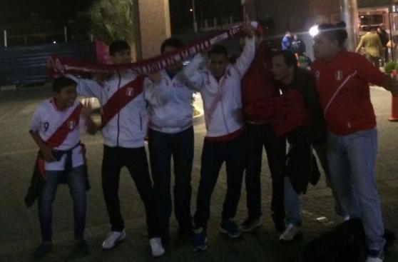 Selección peruana: así fue la llegada a Uruguay (FOTOS)
