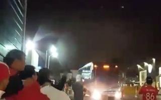 Selección peruana fue recibida con algarabía en Uruguay [VIDEO]