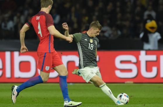Alemania vs. Inglaterra: postales del emotivo triunfo británico