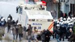 Bruselas: Policía dispersa a manifestantes con cañones de agua - Noticias de pacífico fc