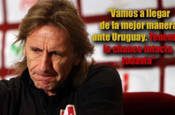 Ricardo Gareca: qué opinas de las frases que dejó desde Uruguay