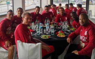 Selección peruana: plantel disfrutó parrillada en Montevideo