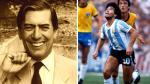 Mario Vargas Llosa y su opinión sobre Maradona en 1982 - Noticias de pelé