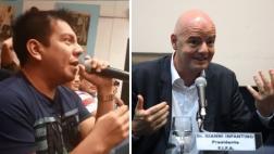 DT El Comercio tuvo encuentro con Gianni Infantino en Uruguay