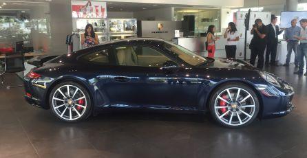 El 911 llega con un nuevo motor biturbo de 3,0 litros. (Fotos: Ruedas&Tuercas)