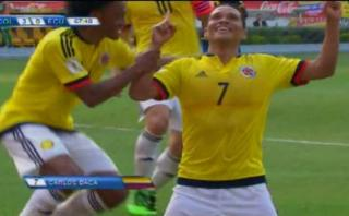 Colombia vs. Ecuador: mira el segundo tanto de Bacca [VIDEO]