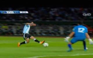 Argentina vs. Bolivia: Banega casi anota a los 10 segundos