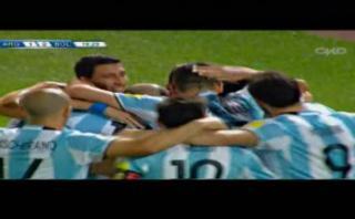Argentina vs. Bolivia: Mercado abrió el marcador con este gol