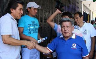 """César Acuña no descarta """"ninguna alianza"""" en segunda vuelta"""