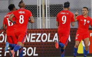 Venezuela vs. Chile: 'La Roja' goleó 4-1 de visita [VIDEO]