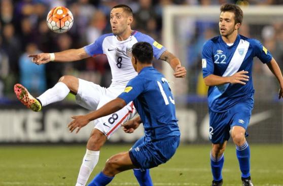 Estados Unidos y la impresionante goleada contra Guatemala