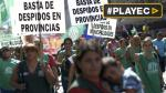 Argentina: sindicatos marchan contra despidos y salarios bajos - Noticias de reforma salarial