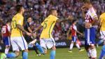 Brasil anotó a los 92' y empató 2-2 con Paraguay en Asunción - Noticias de dani benitez
