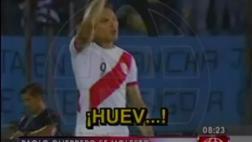 Guerrero y el día que se enfadó con Pizarro tras gol de Uruguay