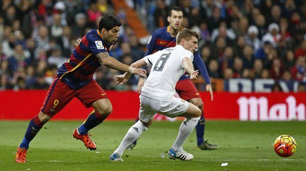 Barcelona vs. Real Madrid EN VIVO ONLINE por la Liga Española