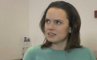 "La audición de Daisy Ridley para ""Star Wars: The Force Awakens"""