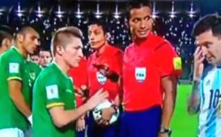 Chumacero explicó incómodo momento con Messi en himno argentino