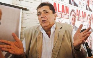 Fiscalización del JNE evaluará pedido para excluir a García