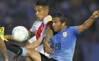 """Seleccionado uruguayo: """"Paolo Guerrero siempre nos complica"""""""