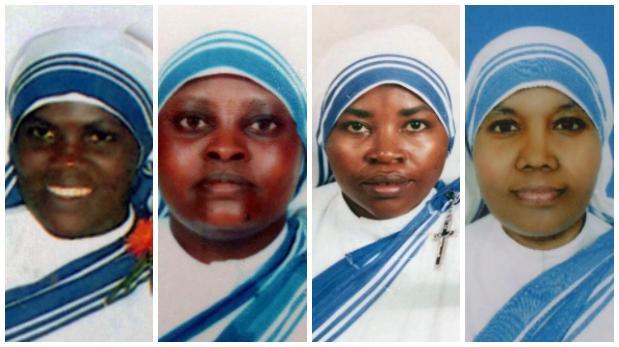 Estado Islámico mató a 4 monjas de la Madre Teresa de Calcuta