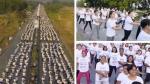 La clase de aeróbicos más grande del mundo se dio en Filipinas - Noticias de zumba