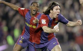 Lionel Messi y su único hat-trick con Barcelona al Real Madrid