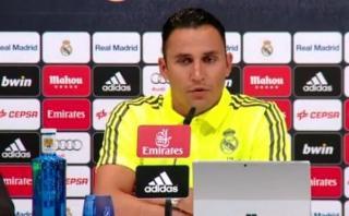 """Keylor Navas: """"En el Real Madrid no se pueden bajar los brazos"""""""