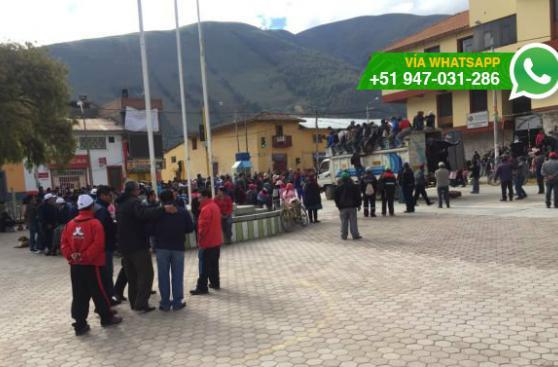 Huancavelica: alertan sobre bloqueo de acceso a ciudad por paro
